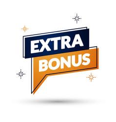 Extra bonus pin vector