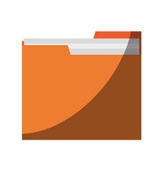 File folder icon imag vector