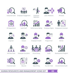Human Resources Set 02 vector