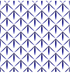 Indigo pattern vector