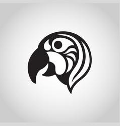 Macaw logo icon vector