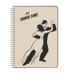 tangodance-03 vector image