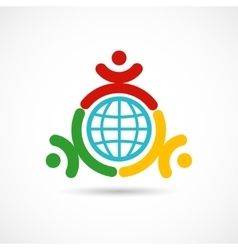 World union symbol vector image