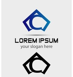 Letter c logo icon design template vector