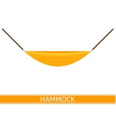 Hammock icon vector
