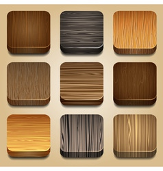 set of apps icon vector image vector image