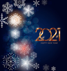 2021 new year and merry christmas background vector