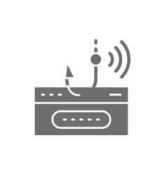 Account password and fishing hook data phishing vector