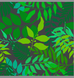 bright green seamless pattern vector image