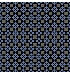Dark seamless geometric pattern vector image