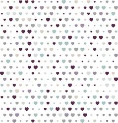 Polka hearth in background vector