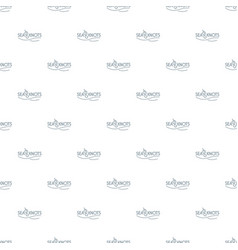 seaknot pattern seamless vector image