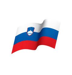 slovenia flag vector image