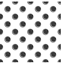 small cake pattern seamless vector image