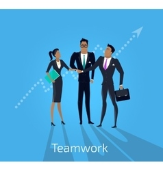 Teamwork and Business vector image
