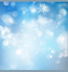 winter holiday snow template eps 10 vector image