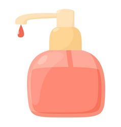 liquid soap icon cartoon style vector image