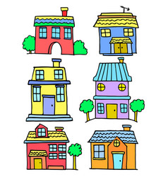 house set various vector image vector image