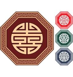 oriental design elements vector image vector image