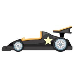 A black car vector