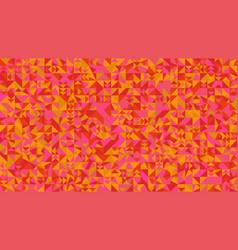 abstract random chaotic triangular mosaic pattern vector image