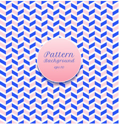 abstract seamless pattern stripe chevron blue vector image