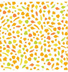 autumn seamless orname vector image