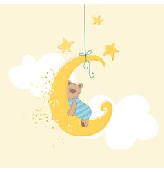 Baby Shower or Arrival Card vector
