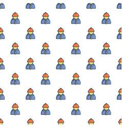 Oilman pattern vector