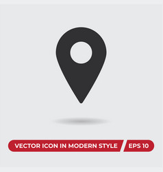placeholder icon in modern style for web site and vector image
