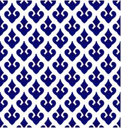 Porcelain ceramic thai pattern vector