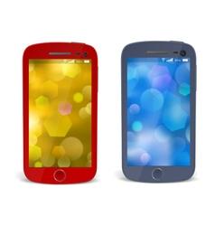 Realistic detailed smartphones vector