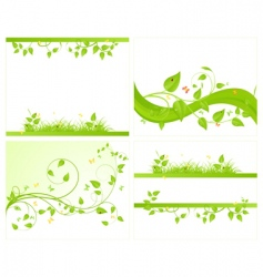 Set vector backgrounds vector