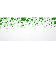 St Patricks day banner vector image