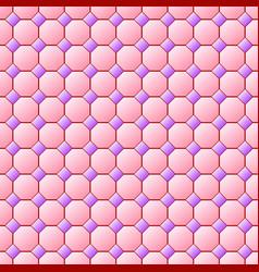 Tile seamless pattern vector