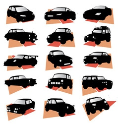 Car set vector