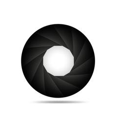 Aperture background vector image