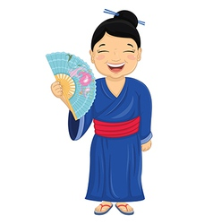 Japanese Girl vector image