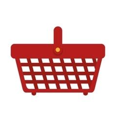 Basket supermarket carry vector