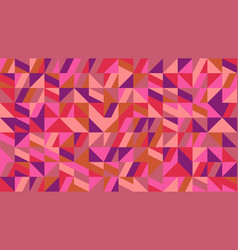 colorful random chaotic geometrical pattern vector image