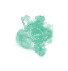 hand drawing watercolor background vector image