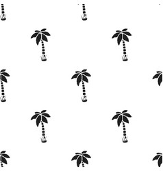 Palm icon in black style for web vector