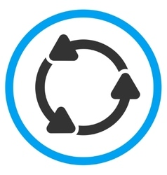 Rotate ccw rounded icon vector