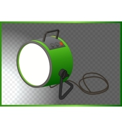 searchlight isometric 3d vector image