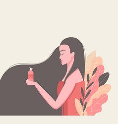 skin care concept vector image