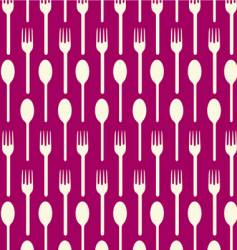 spoon fork vector image vector image
