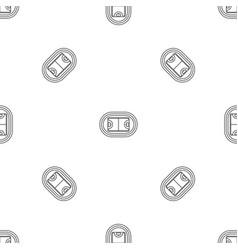 top hockey field pattern seamless vector image
