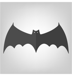 bat icon for Halloween vector image vector image