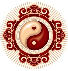 oriental zen design element vector image