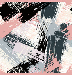 seamless abstract background pattern with paint vector image vector image